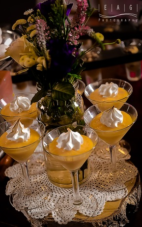 Lemon cocktail things